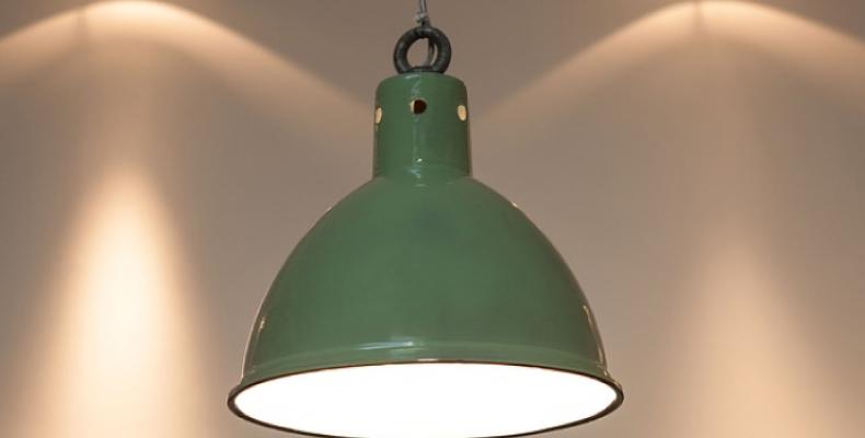 Wnętrza industrialne - lampy