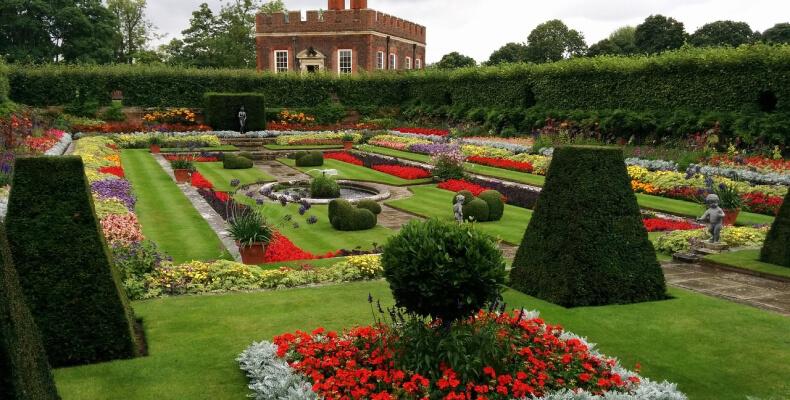 Rośliny - ogrody w stylu angielskim