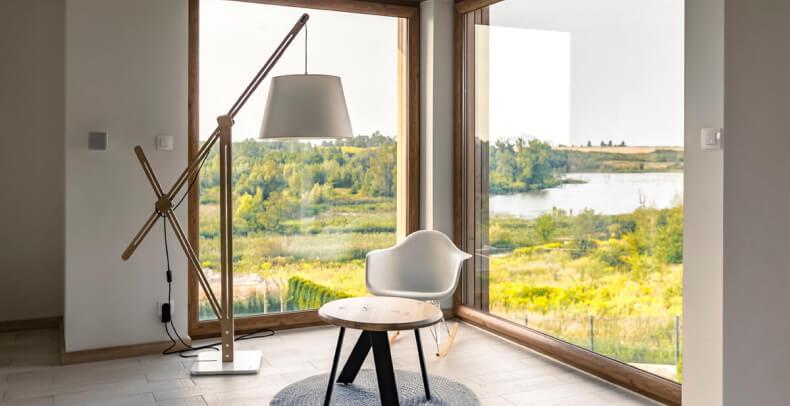 Salon w stylu loftowym - meble loftowe