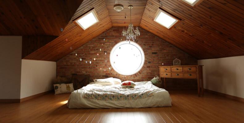 Sypialnia Ze Skosem Jak Urządzić Sypialnię Na Poddaszu