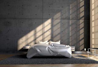 jak urządzić sypialnię w stylu loft?