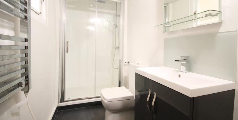 minimalistyczna łazienka inspiracje