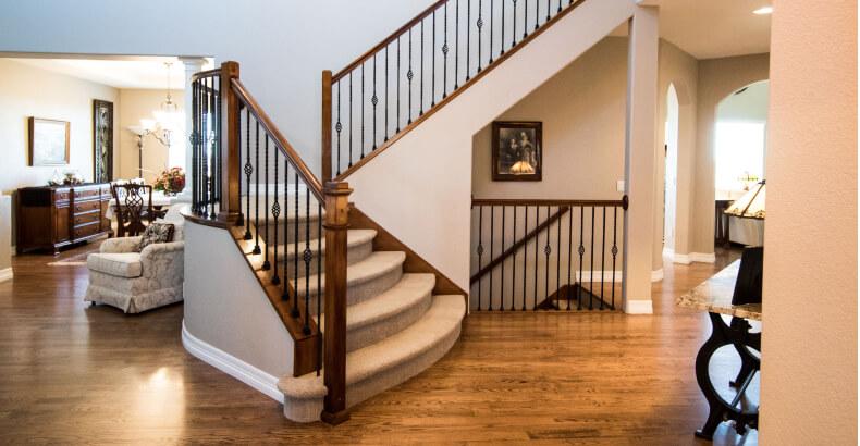 Włoski styl w domu - schody