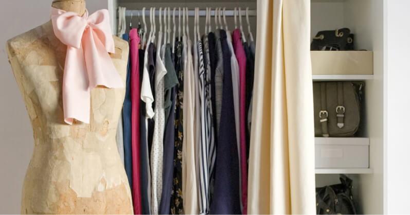 Manekin - aranżacja garderoby