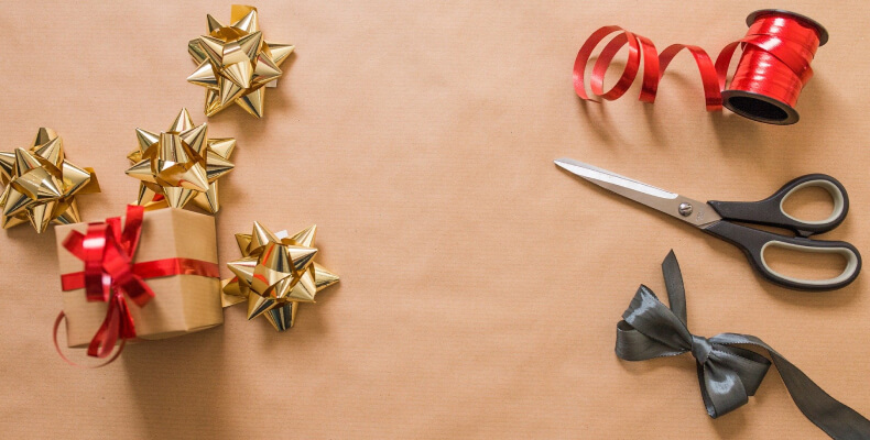 Dodatki do dekorowania prezentów
