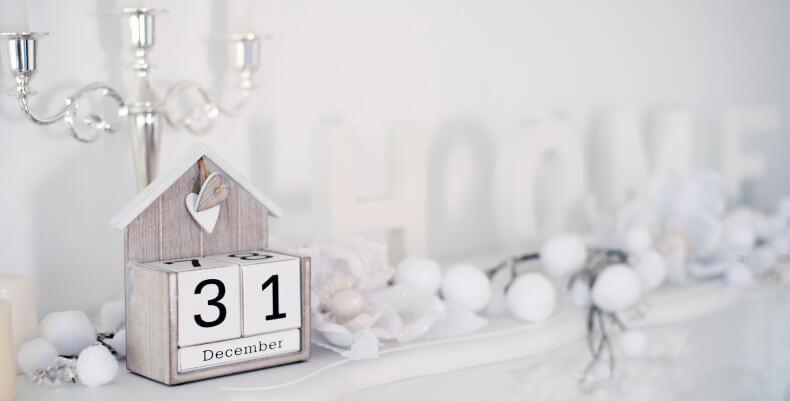 Pomysł na kalendarz kostkę