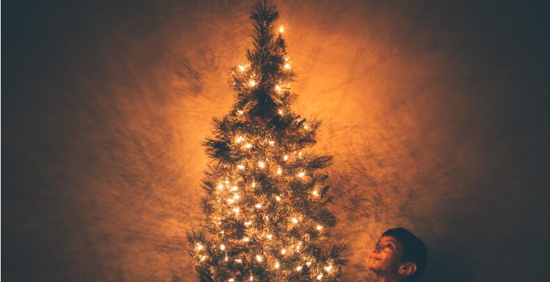 Wystrój domu na Święta - lampki