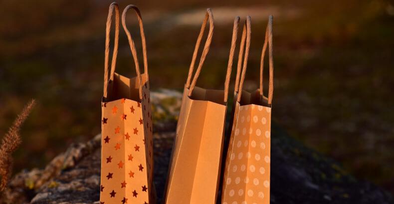 Torby świąteczne - jak ładnie zapakować prezent
