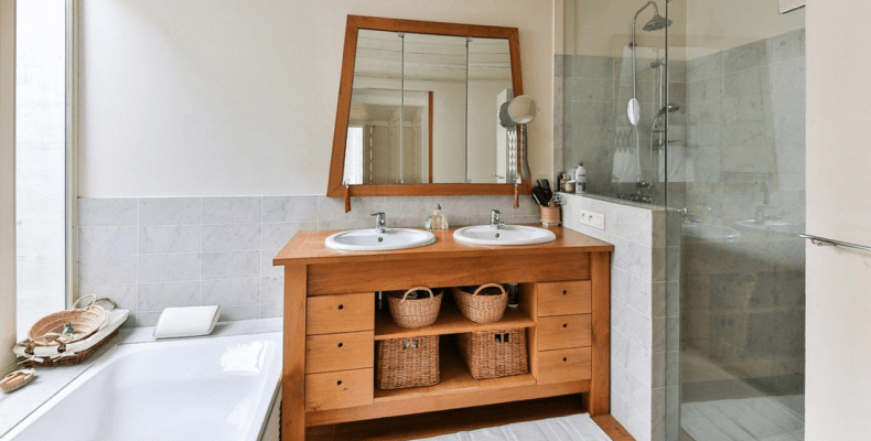 Aranżacja łazienki w prowansalskim stylu