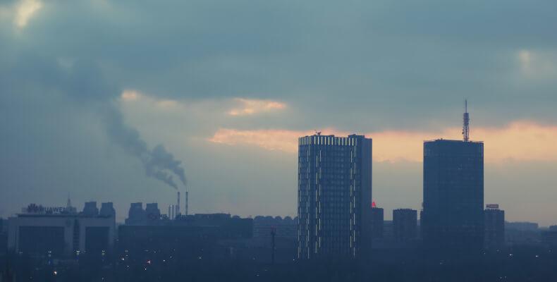 Oczyszczanie powietrza - zanieczyszczenie