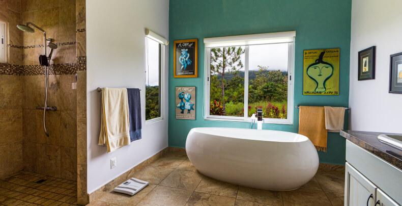 Dekoracje w łazience - lifting łazienki