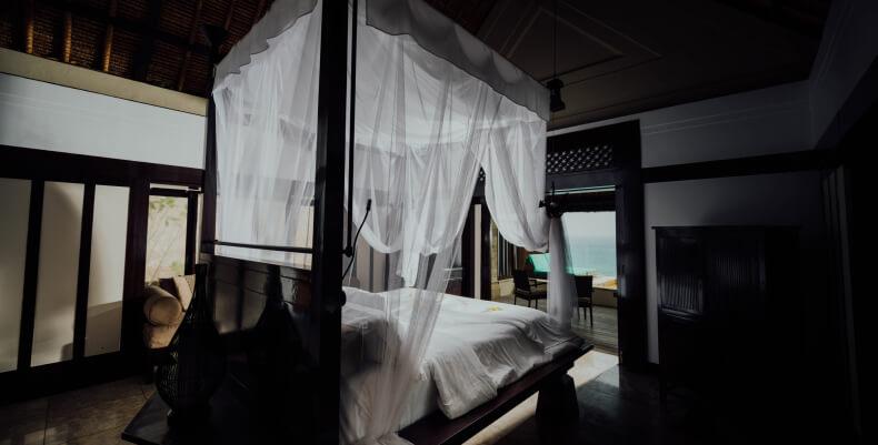 Moskitiera - sposoby na komary w domu