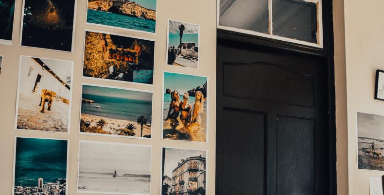 Jak ozdobić ścianę zdjęciami