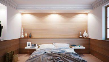 Nastrojowe oświetlenie sypialni