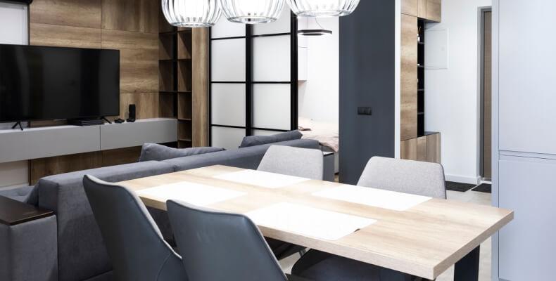 Stół do małego wnętrza