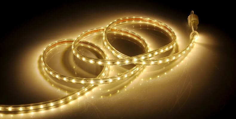 Taśmy LED w domu
