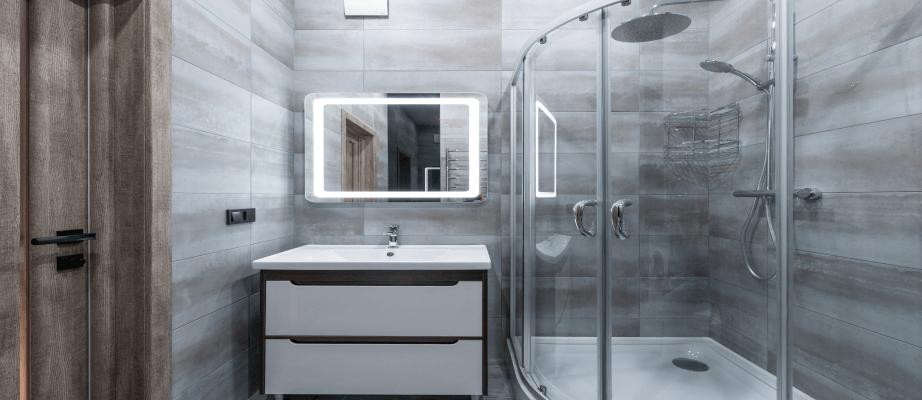 Domowy sposób na kamień w kabinie prysznicowej